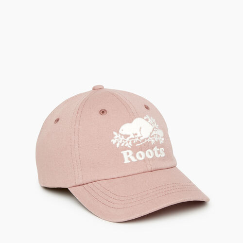 Roots-Kids Our Favourite New Arrivals-Kids Cooper Baseball Cap-Deauville Mauve-A
