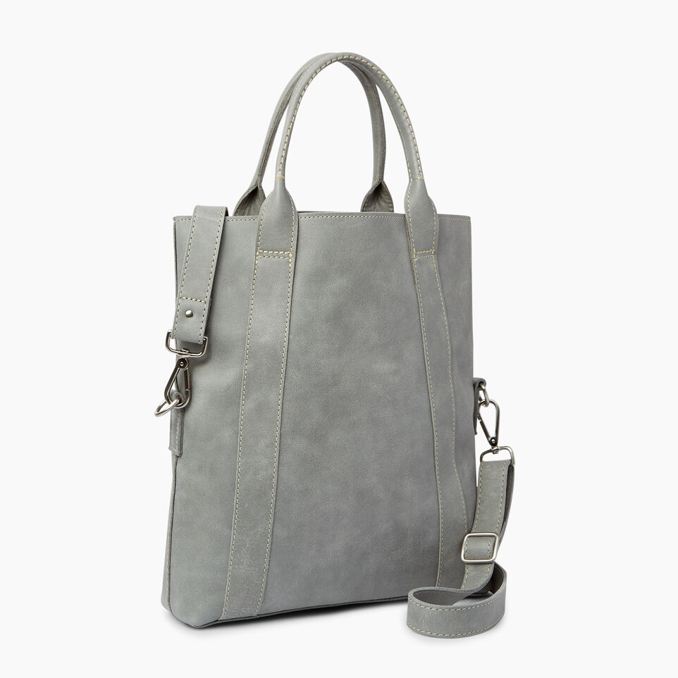 Roots-Leather  Handcrafted By Us Categories-Annex Tote-Quartz-C