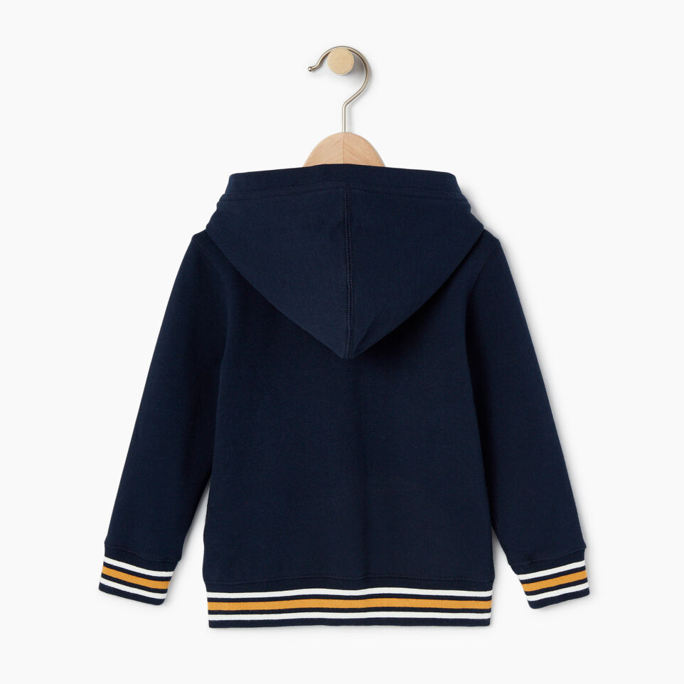 Roots-undefined-Toddler Roots Varsity Full Zip Hoody-undefined-B