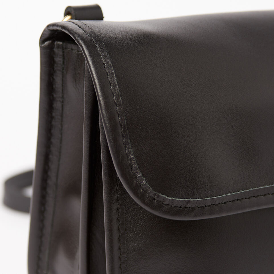Roots-Winter Sale Leather-Sandys Bag Heritage-Black-D