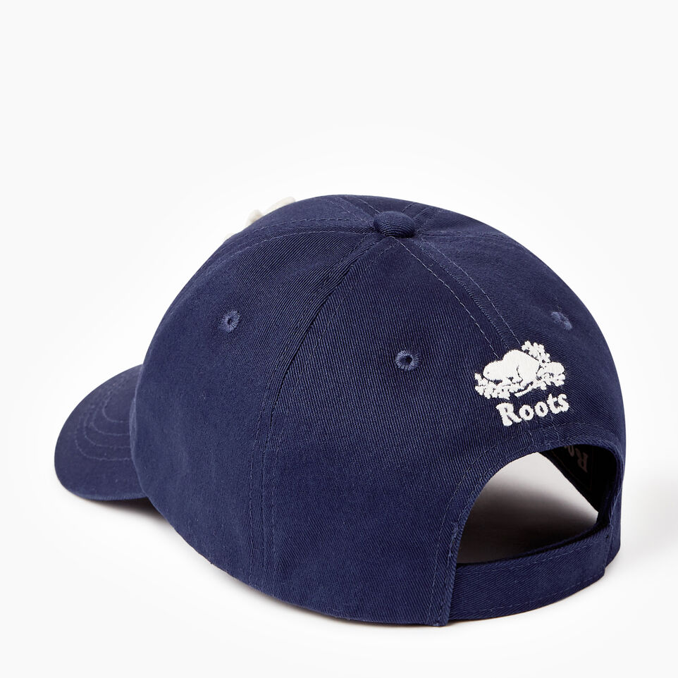 Roots-Kids Our Favourite New Arrivals-Kids Canada Baseball Cap-Navy-C