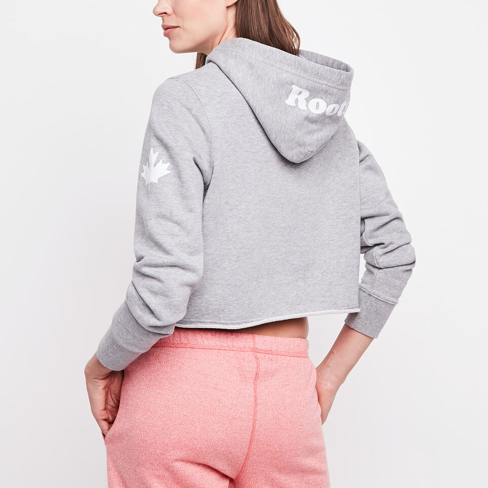 Roots-undefined-Busted Cooper Cropped Hoody-undefined-D