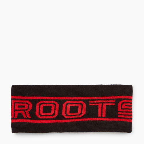 Roots-Women Accessories-Roots Sport Ski Band-Black-A