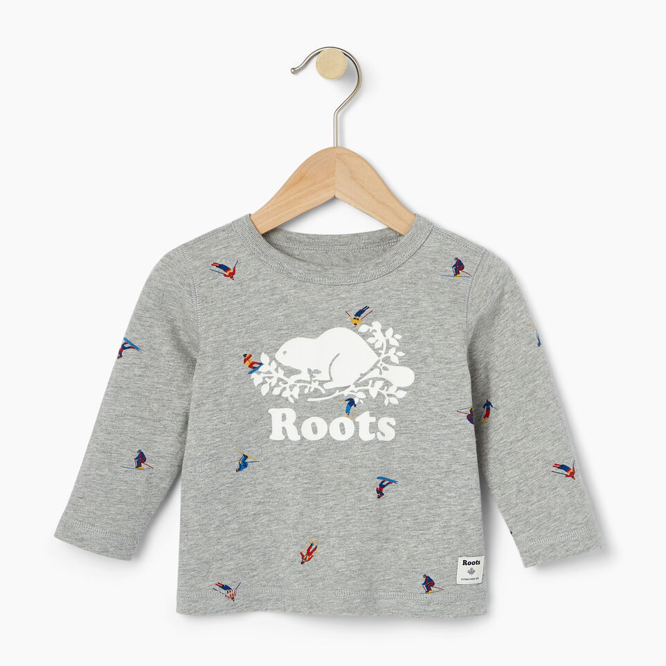 Roots-undefined-Baby Skier AOP T-shirt-undefined-A