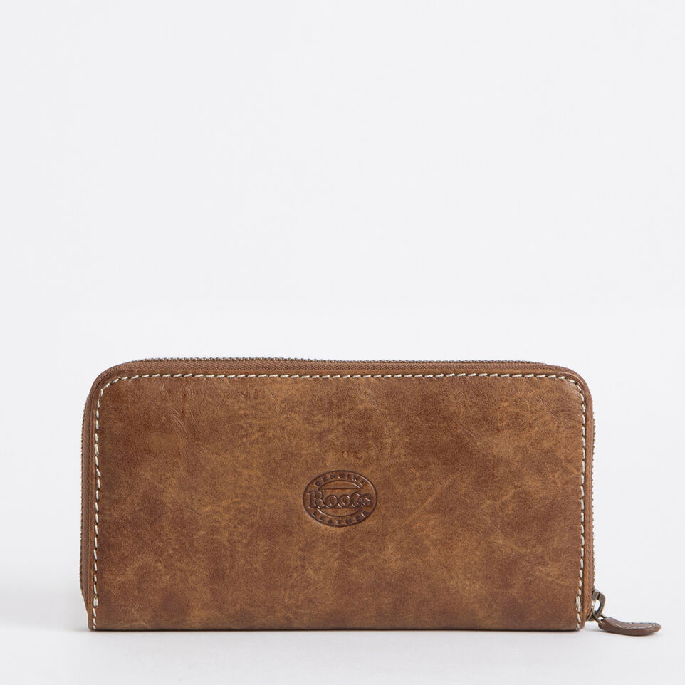 Roots-undefined-Zip Around Clutch Tribe-undefined-B