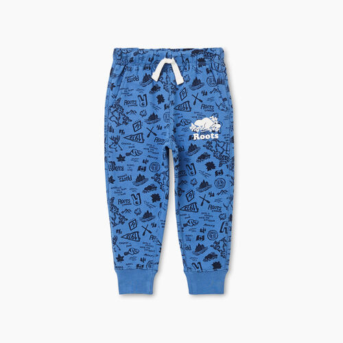 Roots-Kids Toddler Boys-Toddler Camp Park Slim Sweatpant-Federal Blue-A