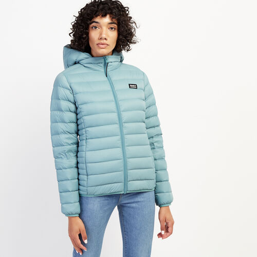 Roots-Women Outerwear-Roots Packable Jacket-Arctic Sky-A