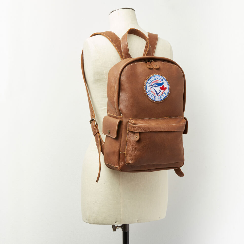 Roots-undefined-Blue Jays Backpack Tribe-undefined-B