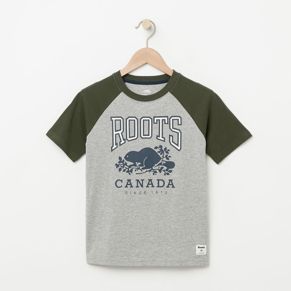 Roots-undefined-Boys Glow In The Dark Raglan Top-undefined-A