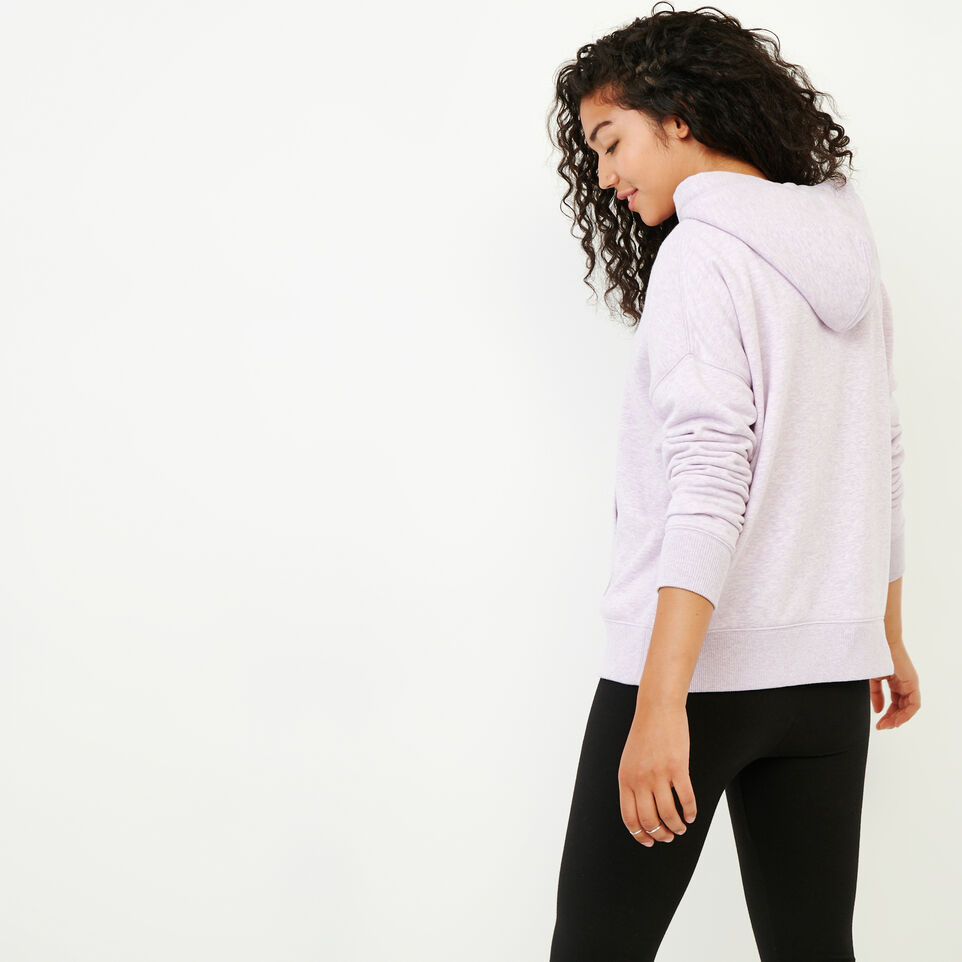 Roots-Women Our Favourite New Arrivals-Junction Hoody-Thistle Mix-E