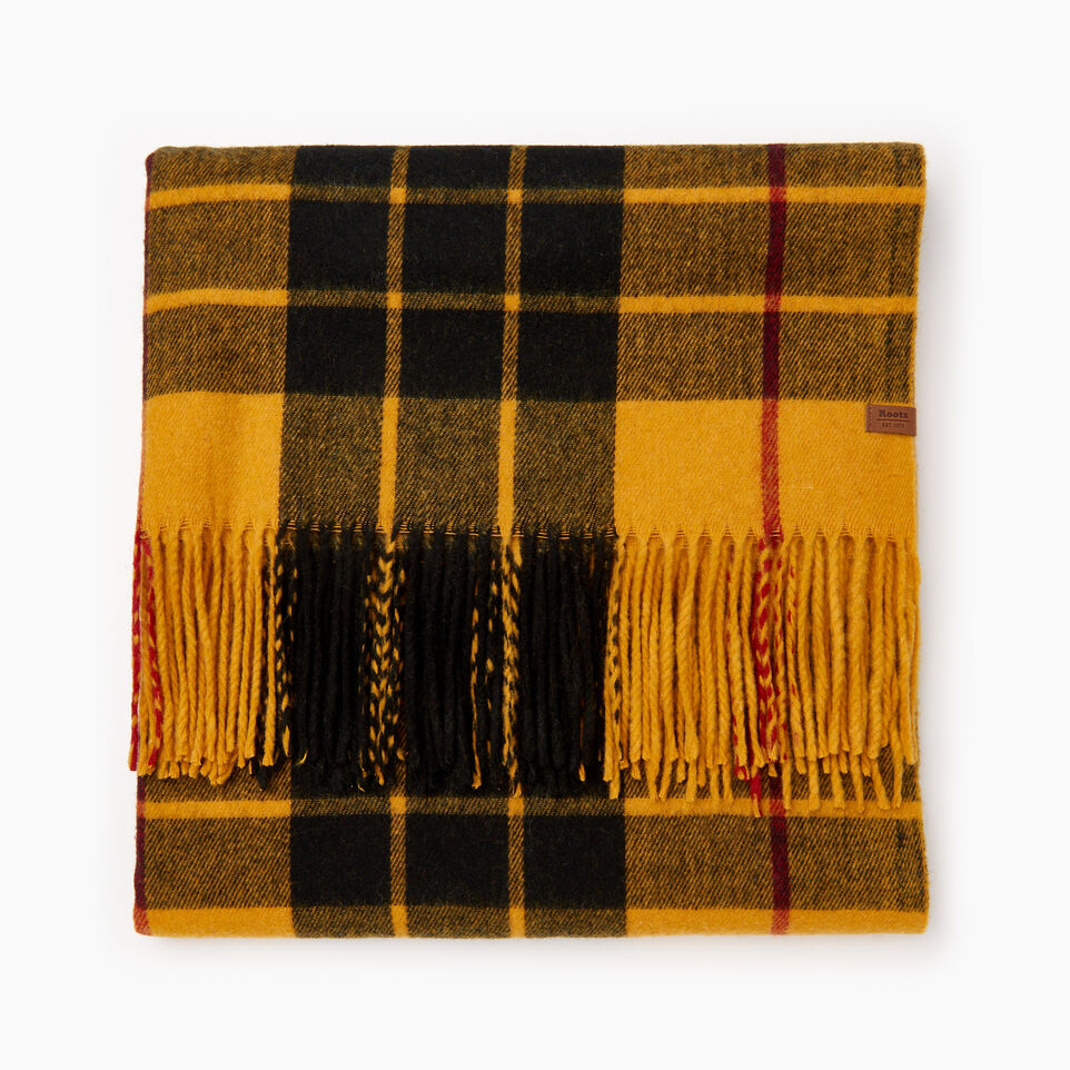 Roots-Women Scarves & Wraps-Labrador Scarf-Yellow-A