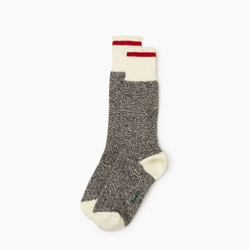 Roots-Men Bestsellers-Mens Roots Cabin Sock 3 Pack-Grey Oat Mix-A