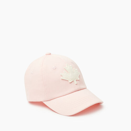 Roots-Kids Toddler Boys-Toddler Canada Baseball Cap-Pink-A