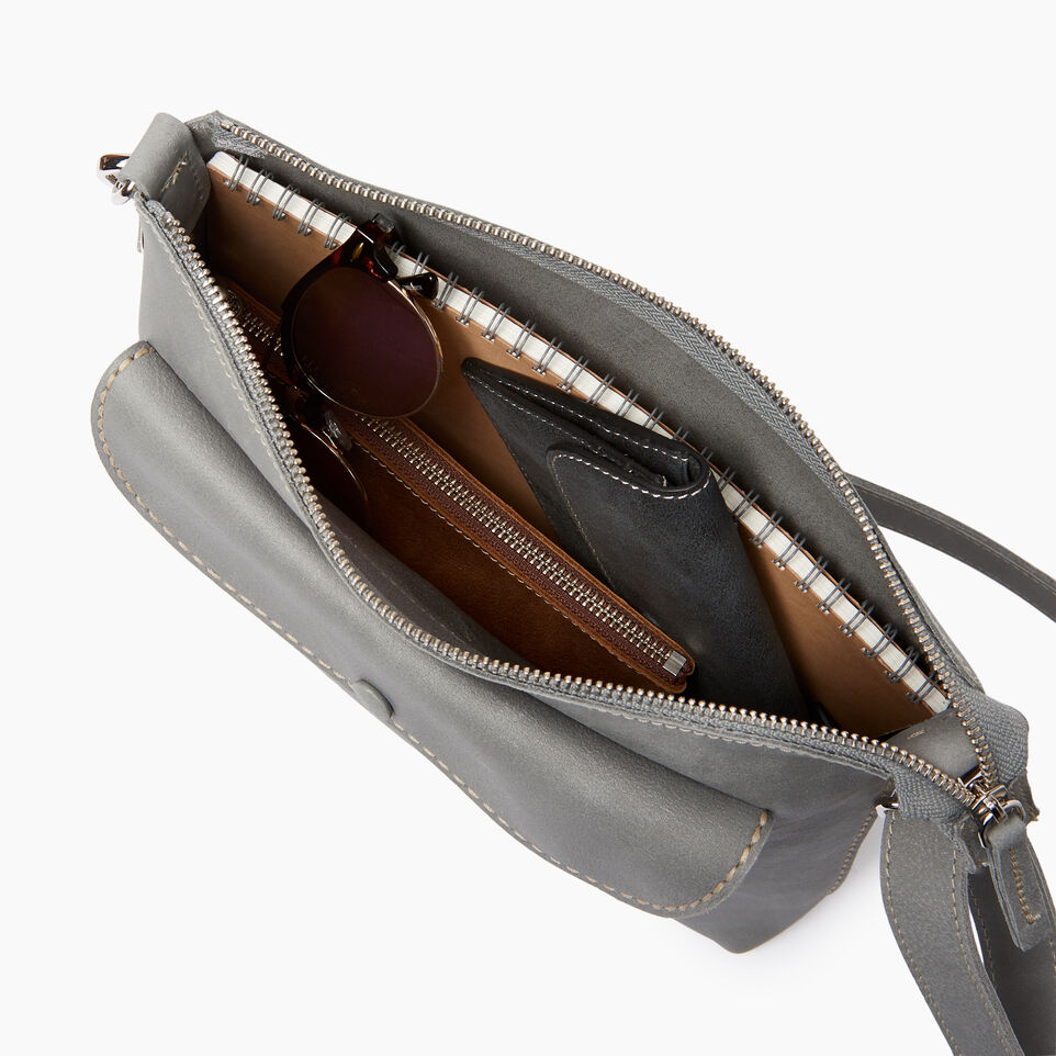 Roots-Leather  Handcrafted By Us Our Favourite New Arrivals-Richmond Crossbody-Quartz-D