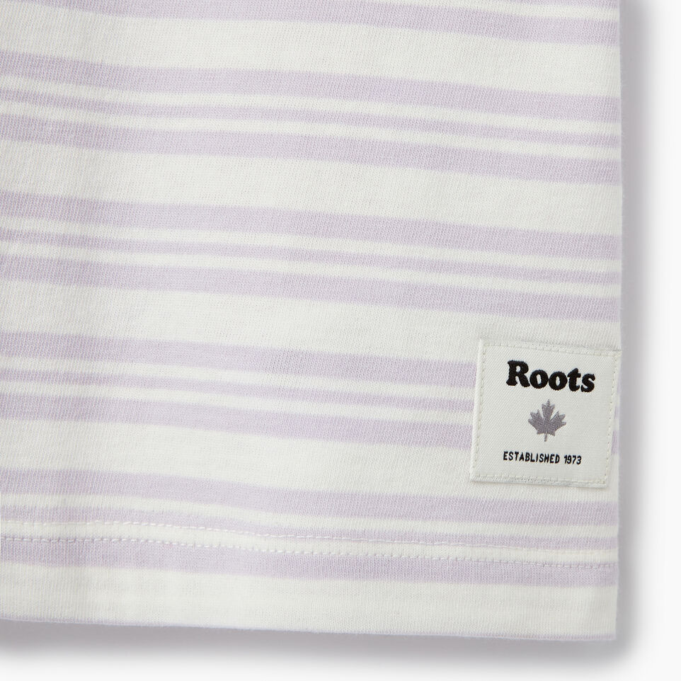 Roots-Clearance Kids-Girls Open Air T-shirt-Thistle-C