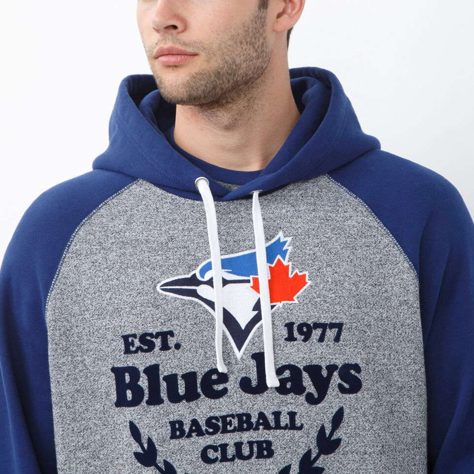 Roots-undefined-Mens Blue Jays Stadium Kanga Hoody-undefined-E