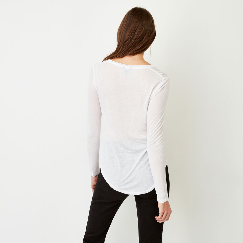 Roots-Women Our Favourite New Arrivals-Sidney Top-White-D