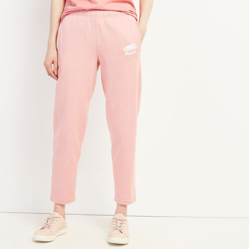 Roots-Women Clothing-Easy Ankle Sweatpant-Sunset Apricot Ppr-A