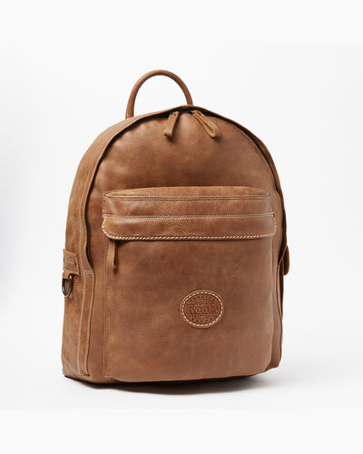 Roots-Men Backpacks-Student Pack Tribe-Natural-A