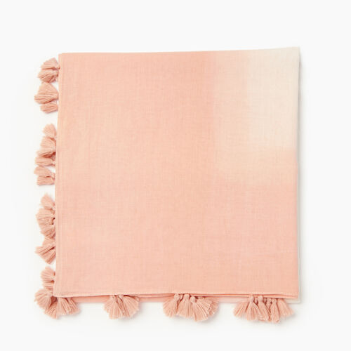 Roots-Women Categories-Lighthall Scarf-Sunset Apricot-A