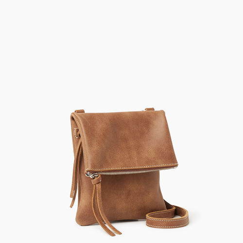 Roots-Leather Handbags-Small Jessie Tribe-Natural-A