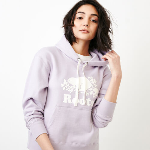 Roots-Women Categories-Boxy Hoody-Thistle-A