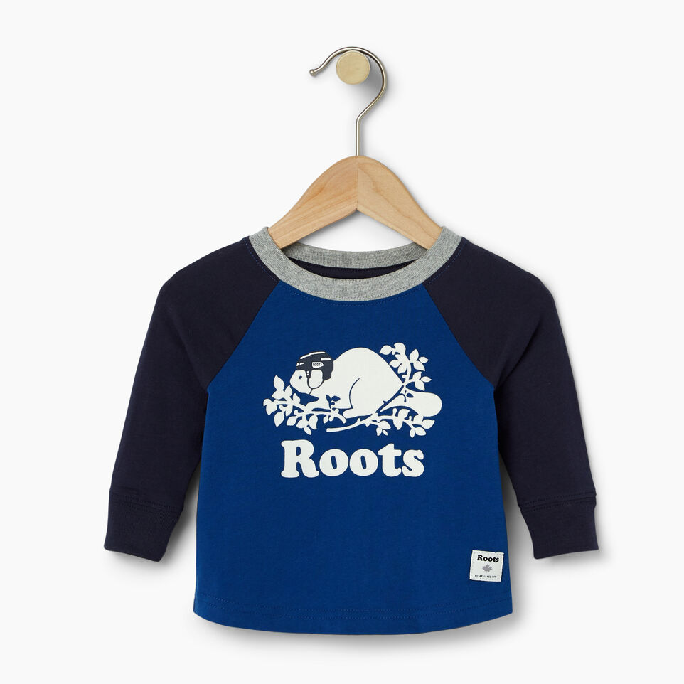 Roots-undefined-Baby Hockey Buddy Raglan T-shirt-undefined-A