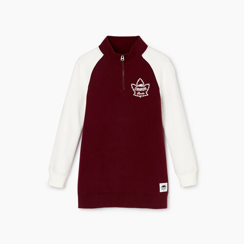Roots-Kids Our Favourite New Arrivals-Girls Canada Stein Tunic-Northern Red-A