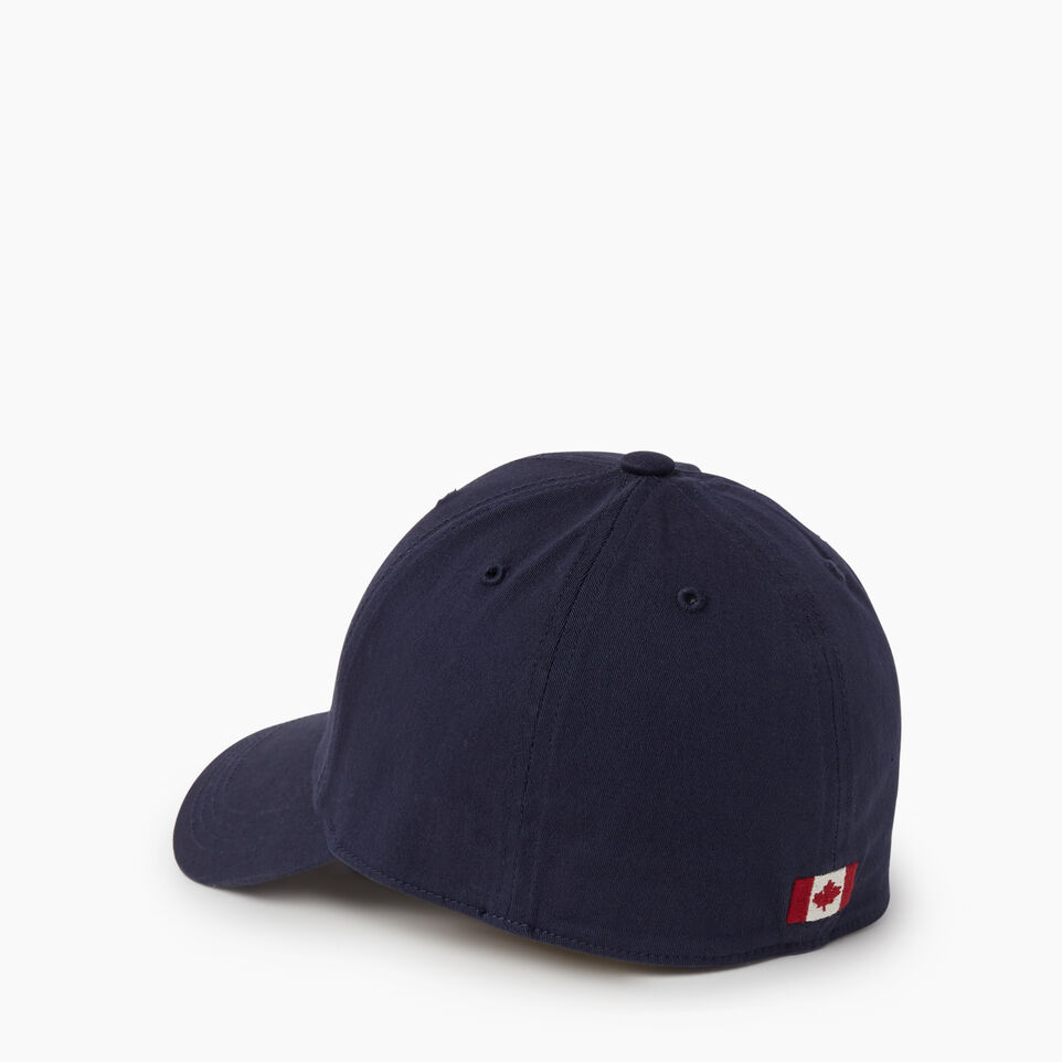 Roots-undefined-Donwood Fitted Baseball Cap-undefined-C