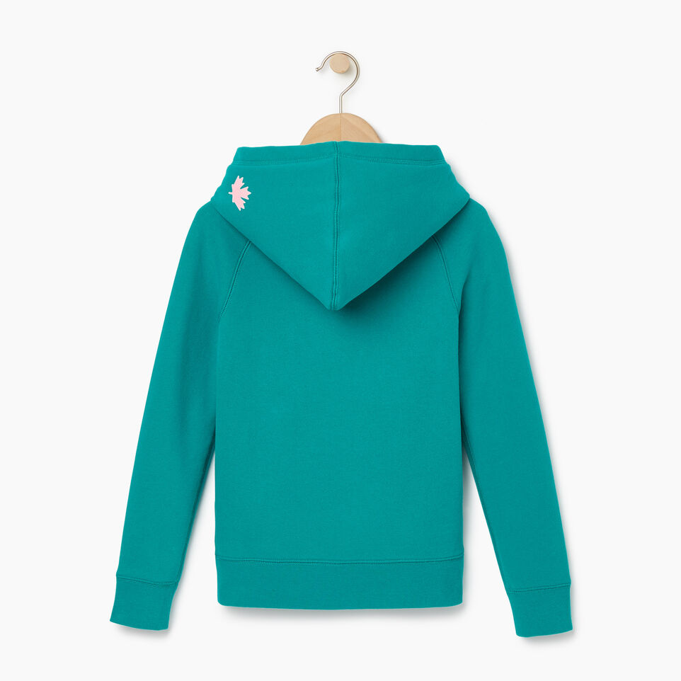 Roots-Kids Our Favourite New Arrivals-Girls Original Kanga Hoody-Dynasty Turquoise-B