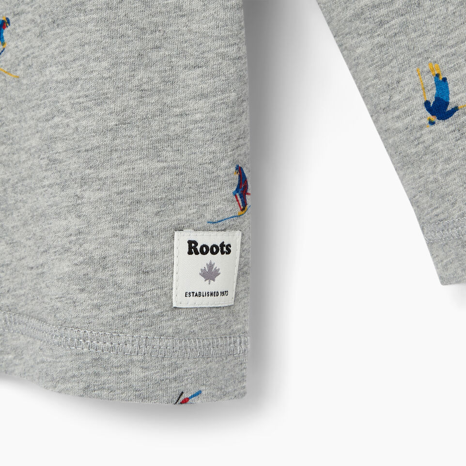 Roots-Kids Our Favourite New Arrivals-Toddler Skier AOP T-shirt-Grey Mix-D