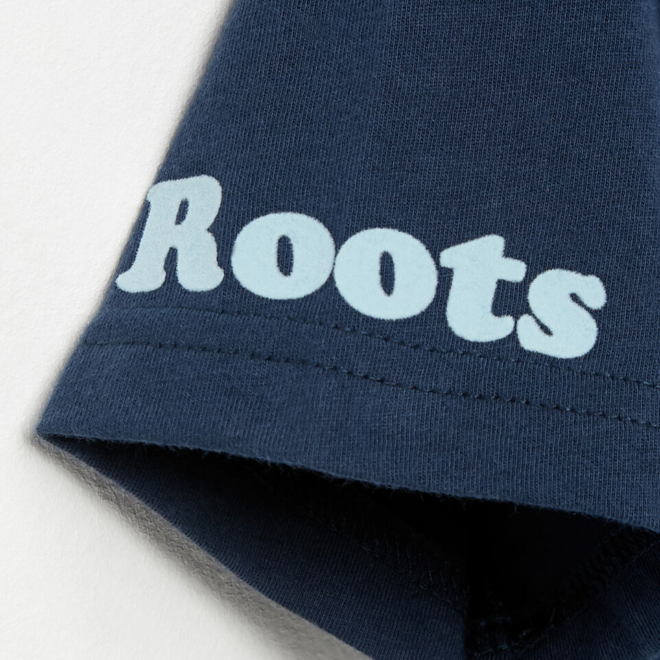 Roots-undefined-T-shirt Keep Paddling pour garçons-undefined-E