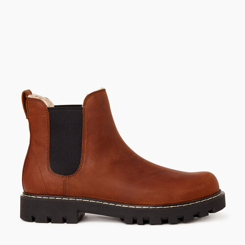 Roots-Footwear Men's Footwear-Mens Tobermory Chelsea Boot-Natural-A