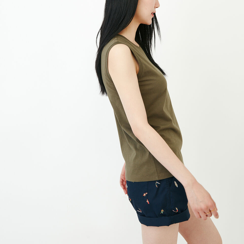 Roots-Women Our Favourite New Arrivals-Essential Tank-Fatigue-C