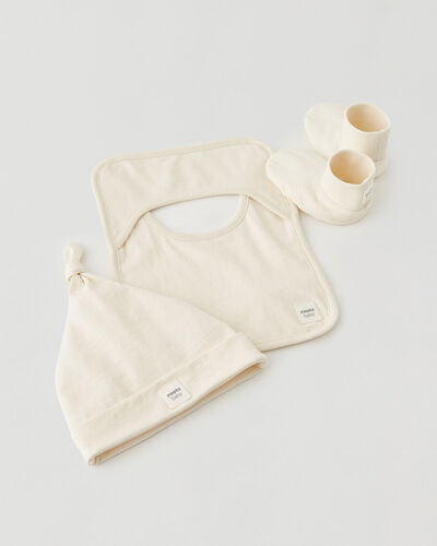 Roots-Kids Baby-Roots Baby's First Accessories-Natural-A