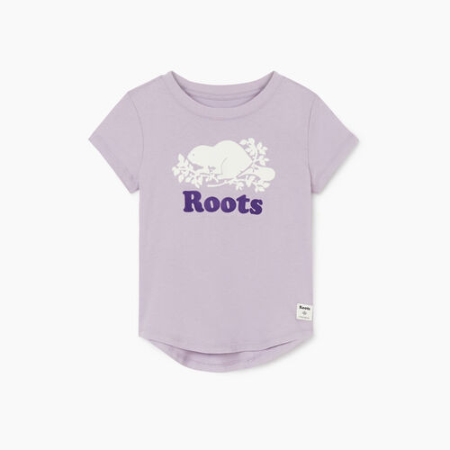 Roots-Kids New Arrivals-Toddler Cooper Beaver T-shirt-Wisteria-A