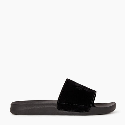 Roots-Footwear Men's Footwear-Mens Long Point Slide-Black-A