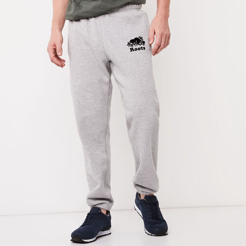 Roots-Men Original Sweatpants-Original Sweatpant-Grey Mix-A