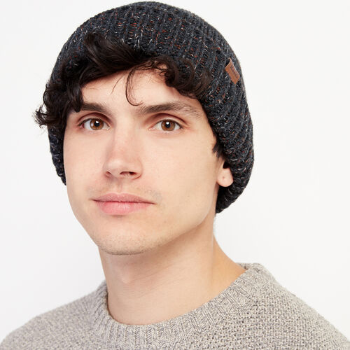 Roots-Men Accessories-Mens Canmore Toque-Charcoal-A