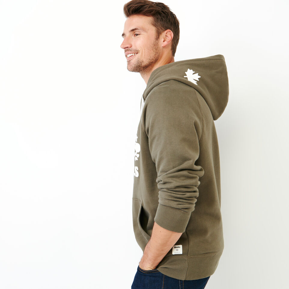 Roots-Men Our Favourite New Arrivals-Original Kanga Hoody-Fatigue-C