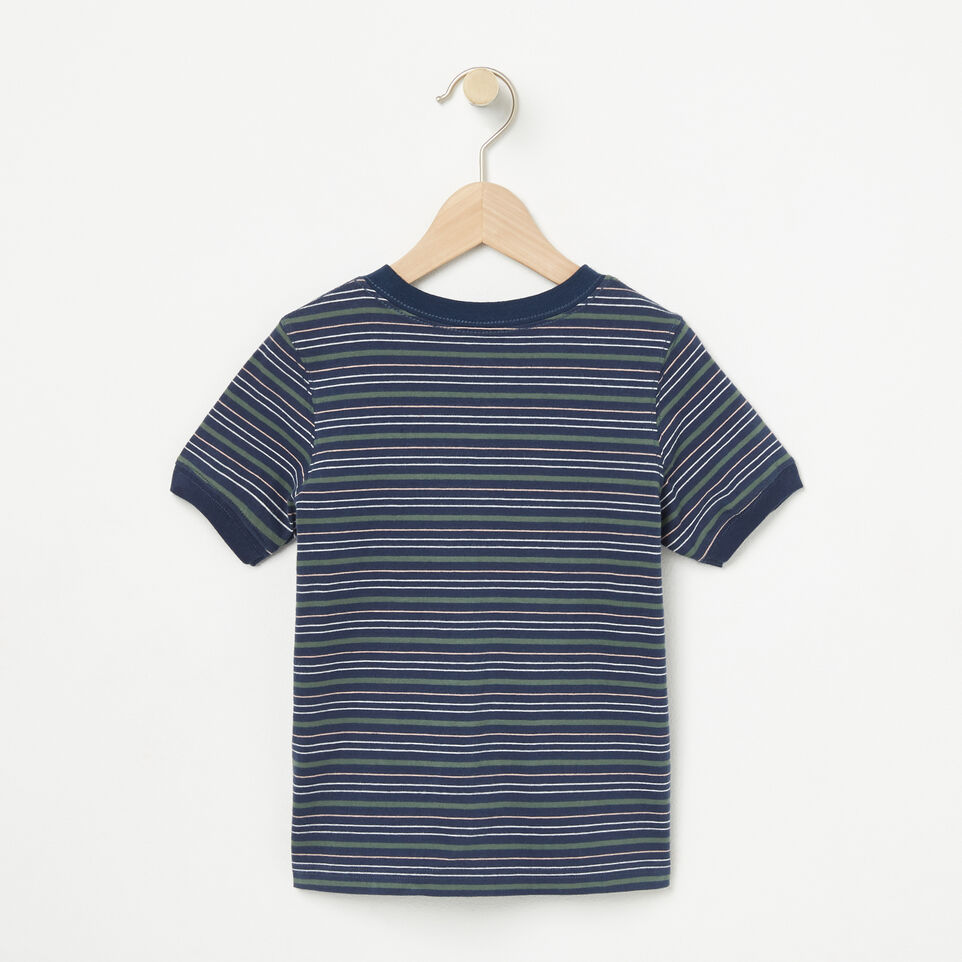 Roots-undefined-Toddler Striped Ringer Top-undefined-B