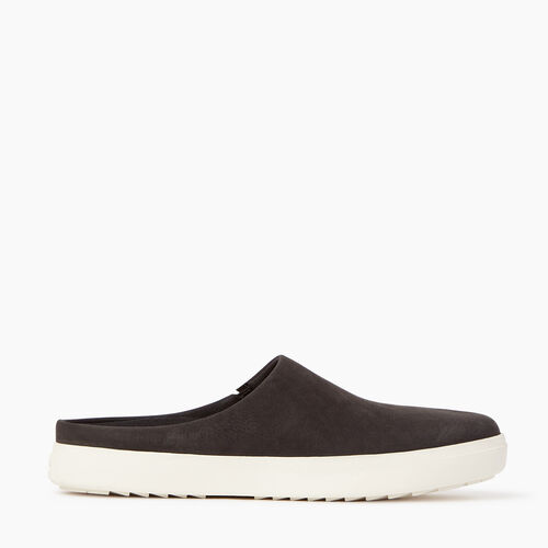 Roots-Women Footwear-Womens Burnaby Mule-Black-A