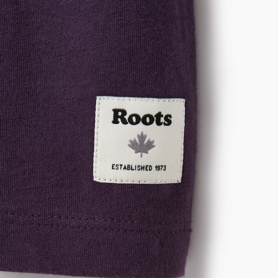 Roots-Women Clothing-Womens Canmore T-shirt-Nightshade-C