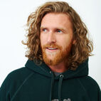 Roots-Men Sweatshirts & Hoodies-Chenille Kanga Hoody-Varsity Green Pepper-E