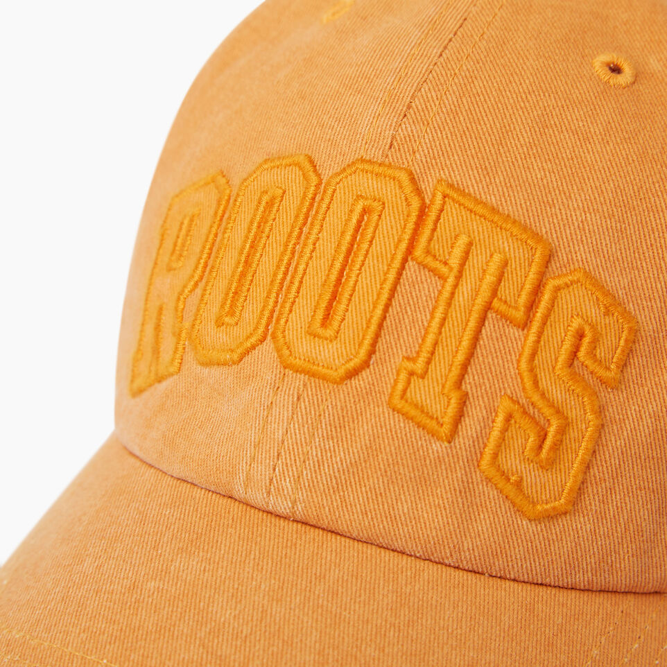 Roots-Men Our Favourite New Arrivals-Strathcona Baseball Cap-Jaffa Orange-D