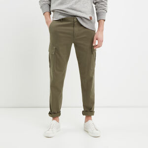 Roots-New For March Men-Utility Cargo Pant-Dusty Olive-A