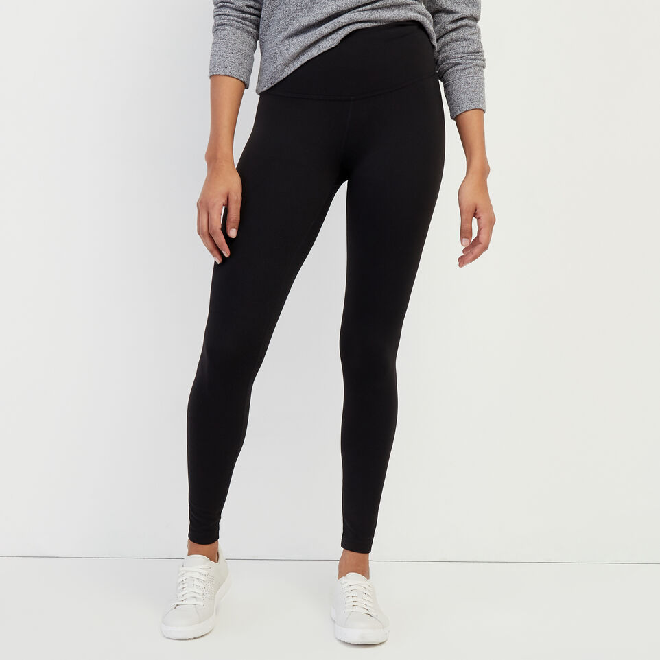 Roots-New For February Journey Collection-High Waist Journey Legging-Black-A