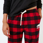 Roots-New For December Today Only: 40% Off Park Plaid Collection-Inglenook Lounge Pant-Lodge Red-E
