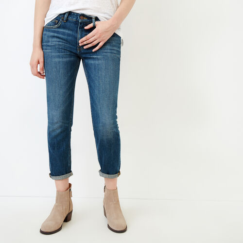 Roots-Women Bottoms-Colville Jean-Med Denim Blue-A