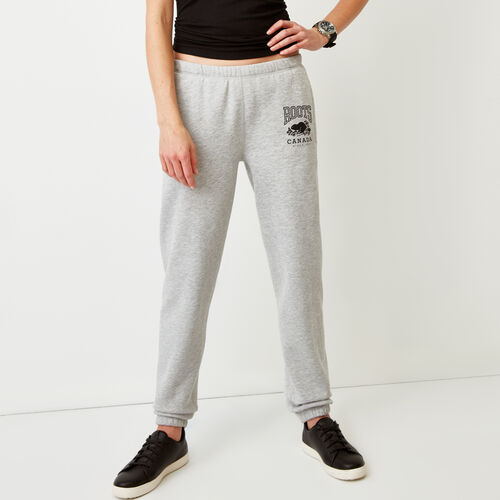 Roots-New For February Sweats-Classic Boyfriend Sweatpant-Grey Mix-A